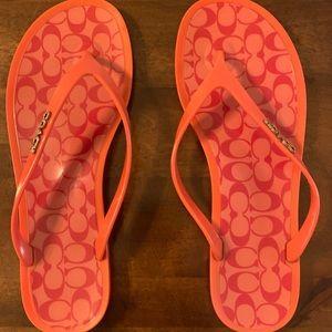 Coach Size 7 sandals